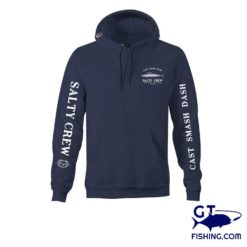 salty crew wahoo mount fleece