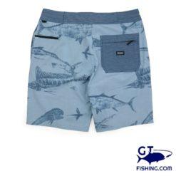 Pelagic Deep Drop Gyotaku shorts